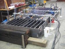 鋼製継手の引張載荷実験