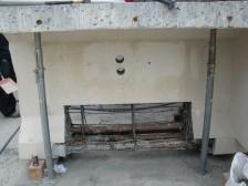 実橋部材の内部鉄筋調査