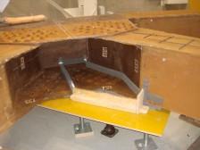 実橋部材の形状測定業務