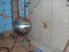 RC供試体の載荷試験および杭供試体の製作
