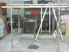 打設影響評価に関する予備実験業務