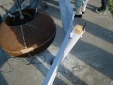 ガードレール重錘衝突2