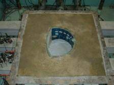 トンネル模型の載荷実験1