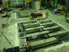 コンクリートのクリープ収縮試験4