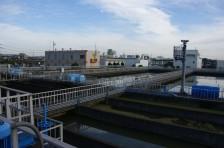 浄水場の現況調査