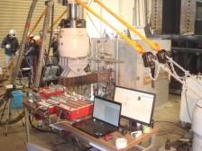 腐食鋼材の交番載荷試験