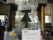 炭素繊維補強アンカーの性能確認試験(扇部接着耐力試験)