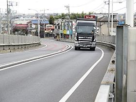実橋の動的応力計測および応力頻度測定