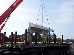 実橋の運搬,解体調査2
