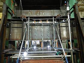 鋼I桁供試体の載荷試験1