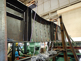鋼I桁供試体の載荷試験2