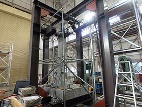 アーチカルバート模型の多軸載荷試験3