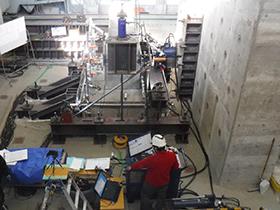 ASRが生じたフーチング供試体の載荷試験1